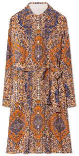 Tory Burch Soirée Pleated Shirtdress