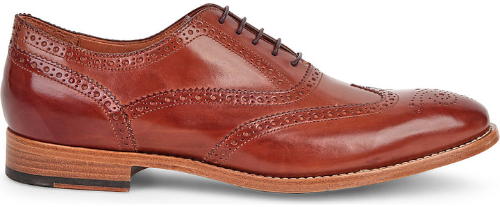 Paul SmithPaul Smith Cristo leather brogues