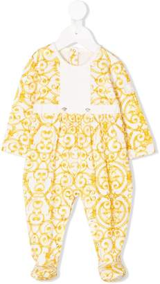 Versace baroque print pajamas