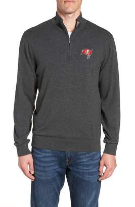 Cutter & Buck Tampa Bay Buccaneers - Lakemont Regular Fit Quarter Zip Sweater