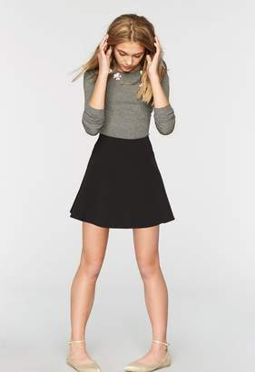 Milly Minis MillyMilly Italian Cady Flare Skirt