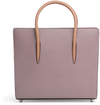 Christian Louboutin Paloma dusty pink medium tote bag