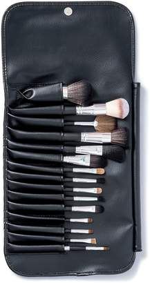 Vanity Planet Black Palette Essential Makeup Brush 15-Piece Set