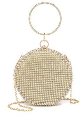 Anna Luchini Circular Embellished Clutch