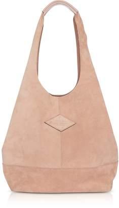 Rag & Bone Nude Suede Camden Shoulder Bag
