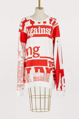 Maison Margiela Oversize sweatshirt