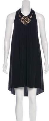 3.1 Phillip Lim Silk Racerback Knee-Length Dress