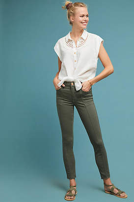 7 For All Mankind Roxanne Mid-Rise Skinny Ankle Jeans