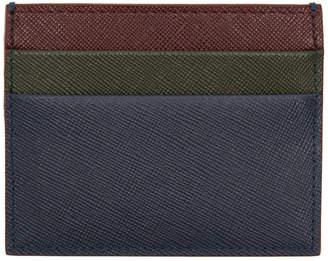 Marni Multicolor Saffiano Card Holder