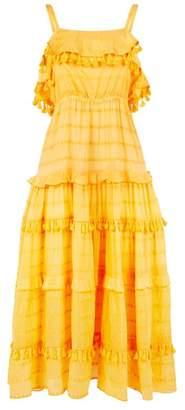 Nicholas Tasselled Maxi Dress