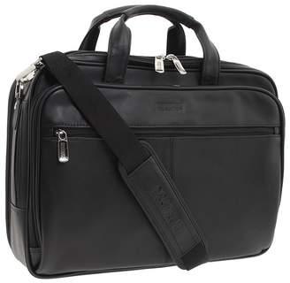 Kenneth Cole Reaction I Rest My Case - 4 1/2 Double Gusset Top Zip Portfolio Computer Case Computer Bags