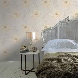 Graham & Brown Boutique - Cream Sofia Wallpaper