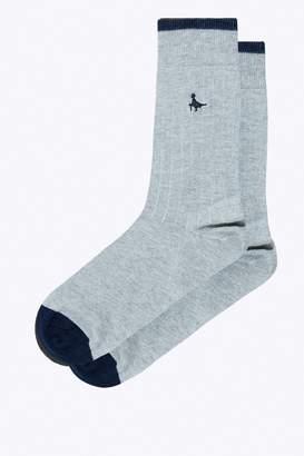Jack Wills Charlbury Single Rib Sock