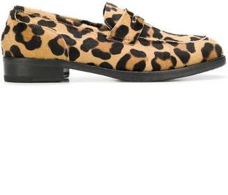 Cenere Gb leopard print loafers