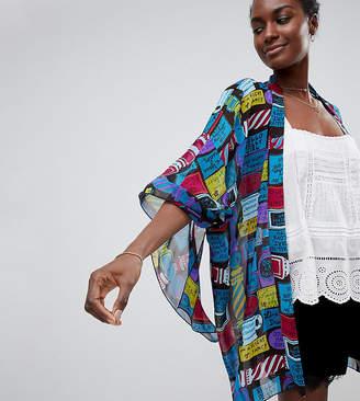 Anna Sui Exclusive Slogan Kimono