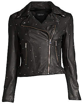 LAMARQUE Women's Piper Studded Jacket