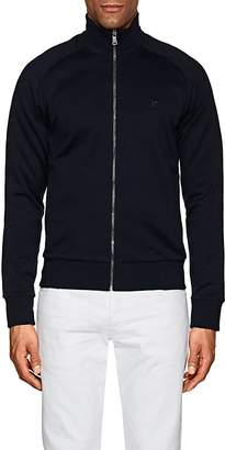 Ralph Lauren Purple Label MEN'S MOCK-TURTLENECK COTTON TRACK JACKET