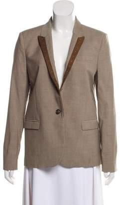 The Kooples Structured Embellished Blazer