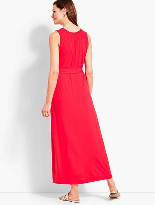 Talbots Belted Maxi Dress
