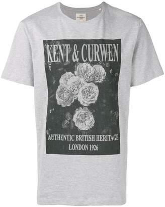 Kent & Curwen photo print T-shirt