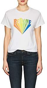 RE/DONE Women's The Classic Logo Cotton T-Shirt - White