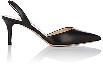 Barneys New York Women's Leather Slingback Pumps