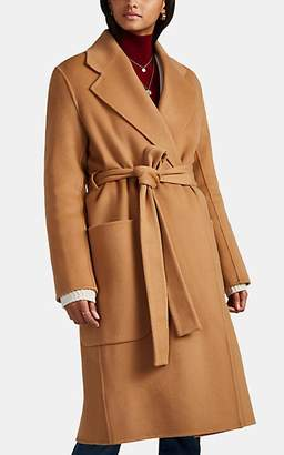 Acne Studios Women's Carice Double-Faced Wool-Cashmere Robe Coat - Camel