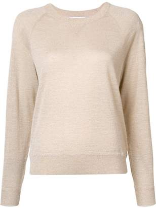 Elizabeth and James metallic knit blouse