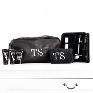 01f0a4e4df9682 Duncan Stewart Textiles Personalised Men's Wash Bag Kit