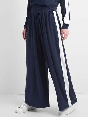 Gap Extra-Wide Leg Softspun Pants with Side Stripe