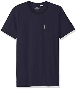 Ben Sherman Men's Plain Pocket Crew TEE