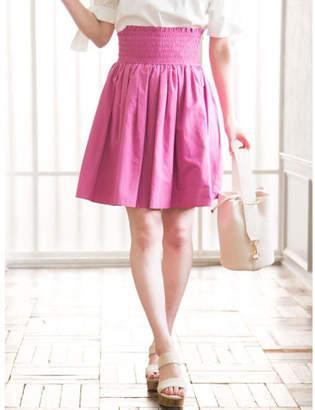 MERCURYDUO (マーキュリーデュオ) - MERCURYDUO タフタカラースカート(ピンク)