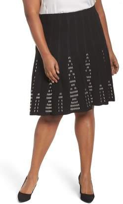 Nic+Zoe Hypnotic Twirl Skirt