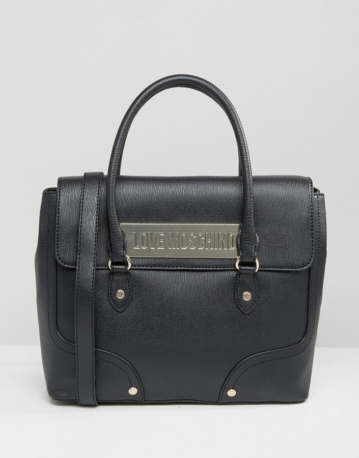 Love MoschinoLove Moschino Handheld Tote Bag