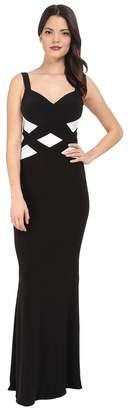 Faviana Jersey Sweetheart Two-Tone Gown 7746 Women's Dress
