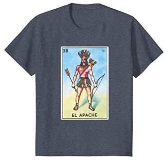 El Apache Card Loteria Shirt Mexican Bingo Tarot