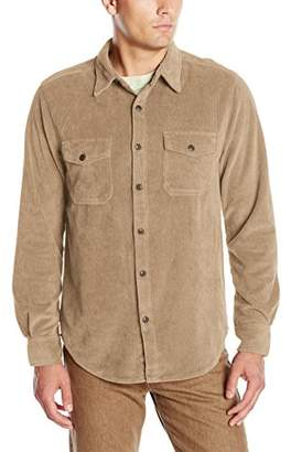 True Grit Men's Best Stretch Cord Long Sleeve Two-Pocket Shirt