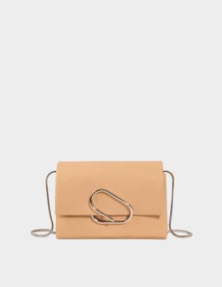 3.1 Phillip Lim Alix Soft Flap Clutch Bag in Fawn Lambskin