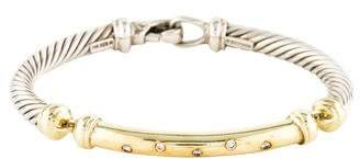 David Yurman Diamond Metro Bracelet