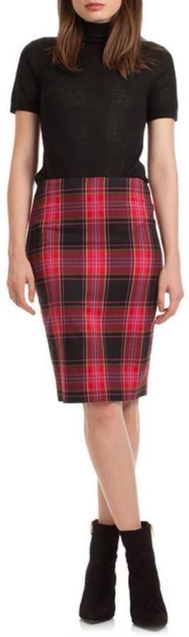 Trina Turk Plaid Crissy Skirt