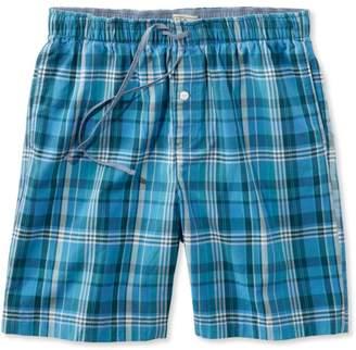 L.L. Bean L.L.Bean Madras Pajama Shorts, Plaid