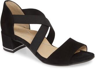 ara Georgette Cross Strap Sandal