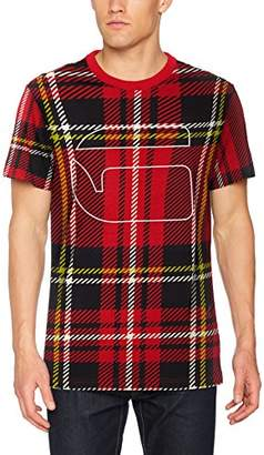 G Star Men's Royal Tartan Print rt s/s