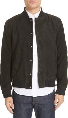 Officine Generale Suede Bomber Jacket