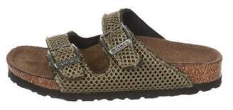 Birkenstock Boys' Net Slide Sandals