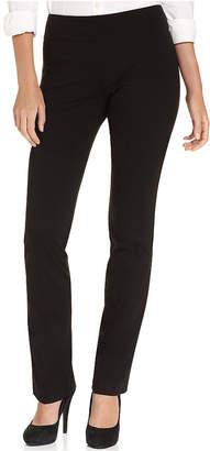 Karen Kane Straight-Leg Pull-On Pants