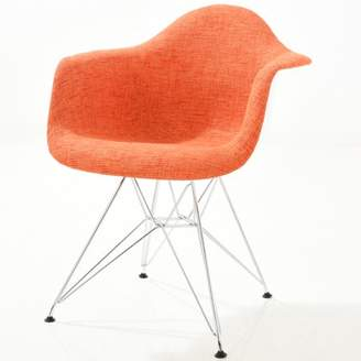 Poly and Bark Padget Padded Arm Chair in Orange
