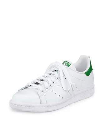 Adidas Stan Smith Classic Sneaker, White/Green $75 thestylecure.com