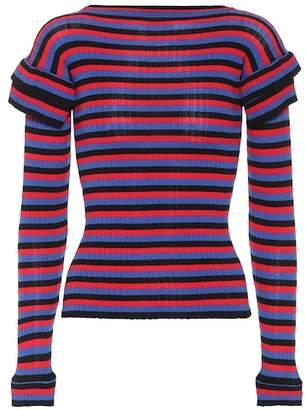 Philosophy di Lorenzo Serafini Striped cotton sweater