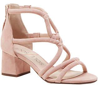 Sole Society Strappy Sandals - Jenina